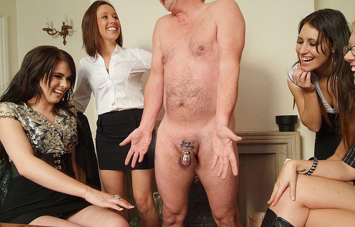 Big tits mistress small cock humiliation