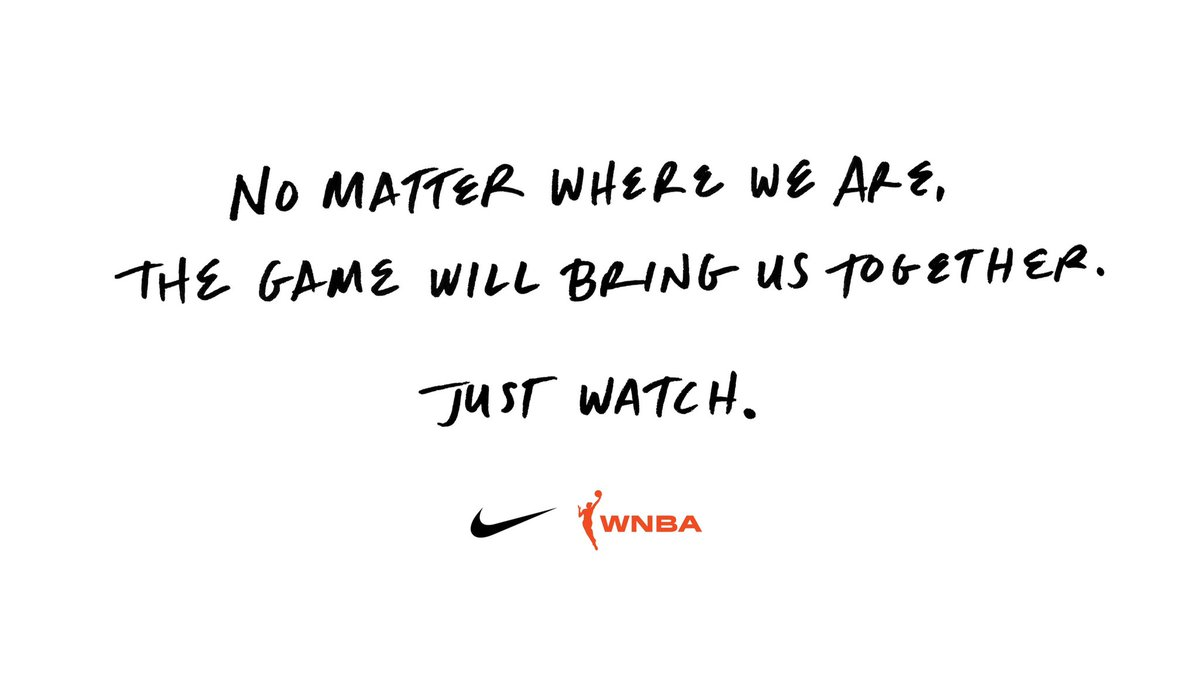 Drafted apart but always together. #justdoit #WNBADraft @nikebasketball https://t.co/5WUQlh6bQg
