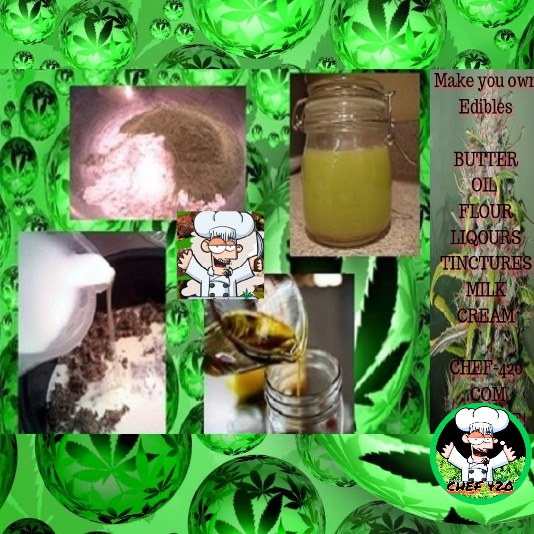 Make your own Edibles, EASY-FREE recipes CHEF 420 showes you how Easy it Is!   >>> https://t.co/jPYoRfieXb    #chef420 #cannabiscures #cannabislife #CBD #edibles #higheats #highfood #infused #plantsnotpills #growyourown #MedicalMarijuana  #Happy420 #420day #420blazeit https://t.co/rnWV08MLx0