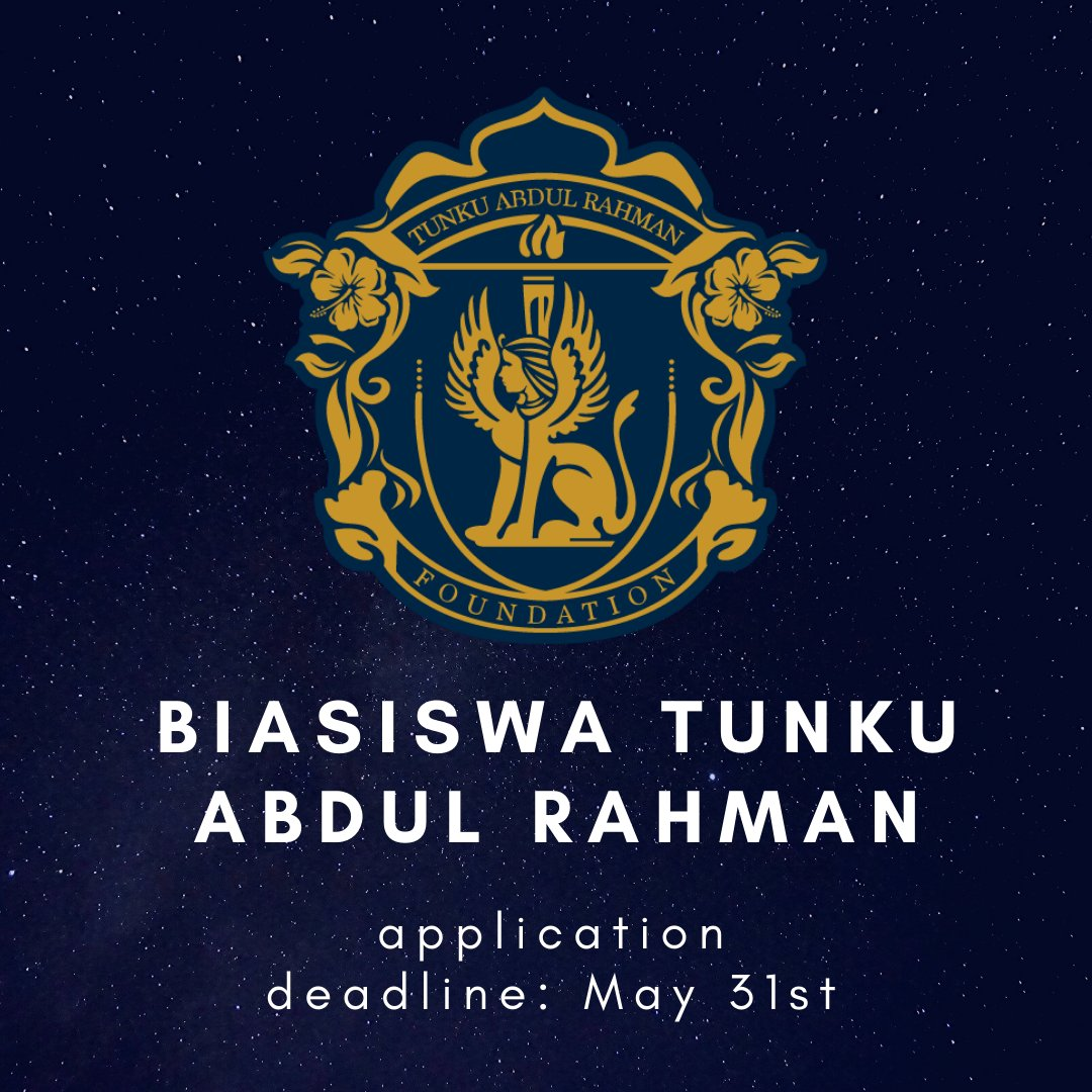 Afterschool My On Twitter Biasiswa Tunku Abdul Rahman Invites Degree Students From All Fields Of Study To Apply Before 31st May 2020 Https T Co Babhrhjfiw Afterschoolscholarships2020 Https T Co Gxslw6vjsi