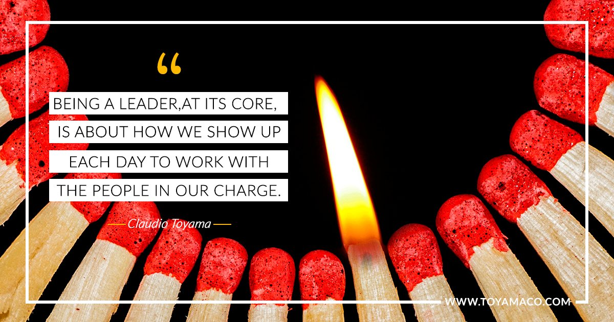 """Being a leader, at its core, is about how we show up each day to work with the people in our charge."" #SSVWay #employeeengagement https://t.co/mDPmpxr31p"