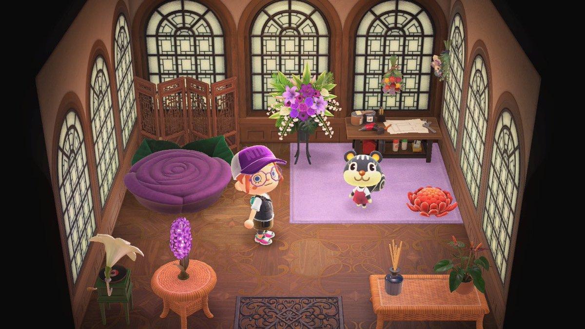 家具 お花 あつ 森