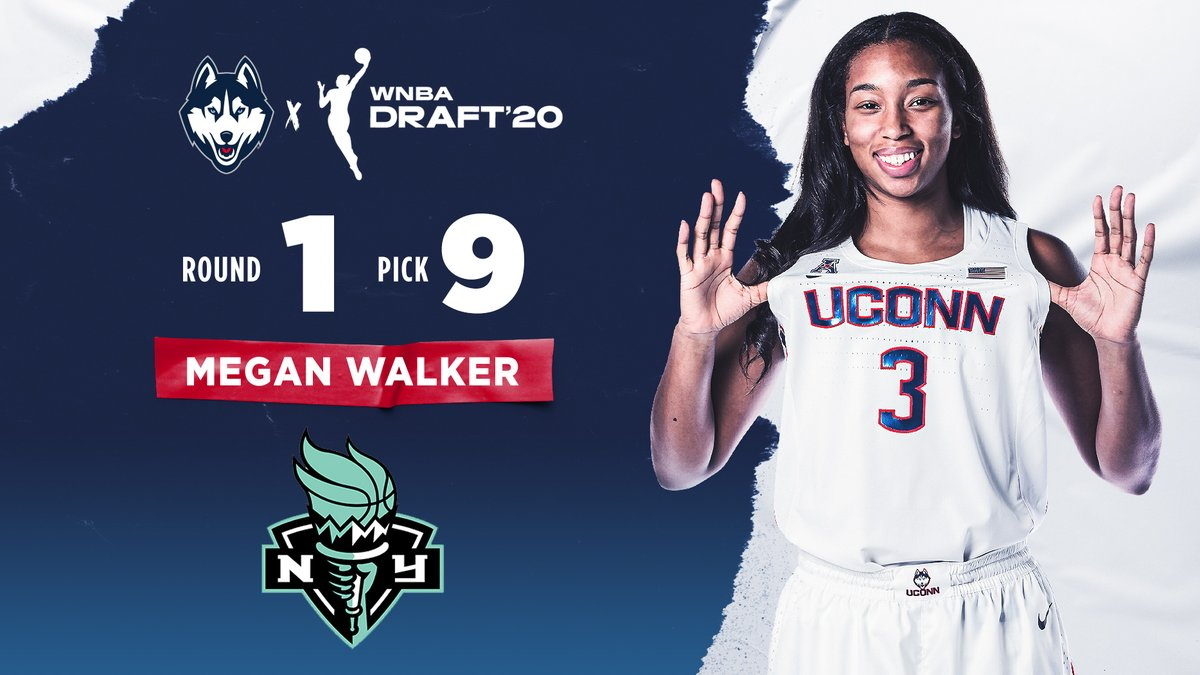 MW3 to NYC!  Congrats to Meg on being drafted by the @nyliberty!  #UConnBred x #WNBADraft https://t.co/XRbmj8P9J6