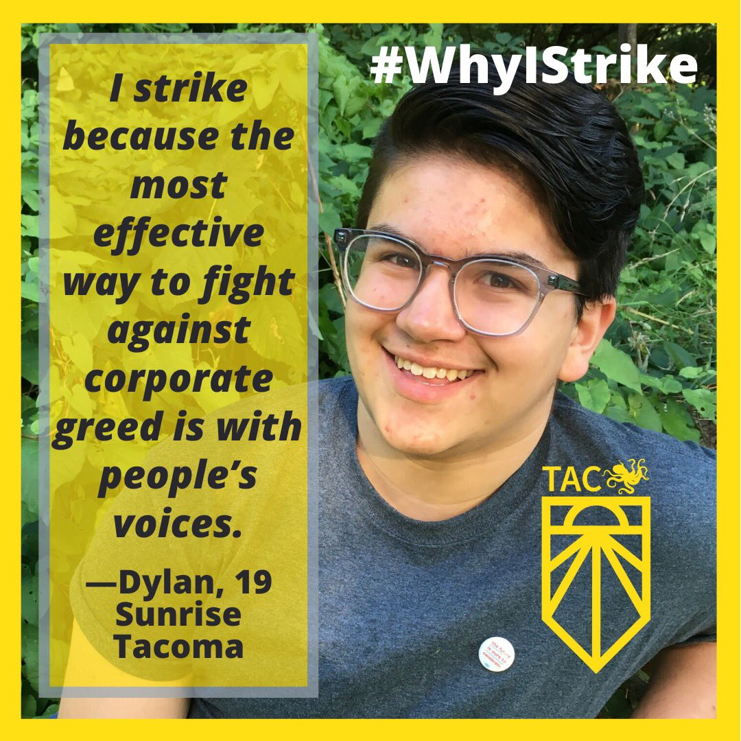Meet some awesome Tacoma youth and hear #WhyIStrike ! ✊🗣