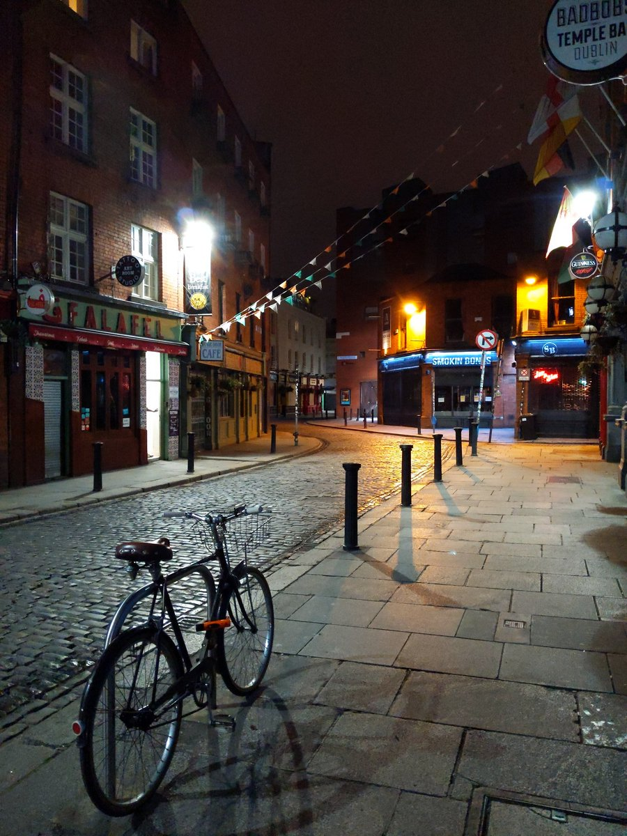 Dublin on a Friday night. Never seen anything like it.