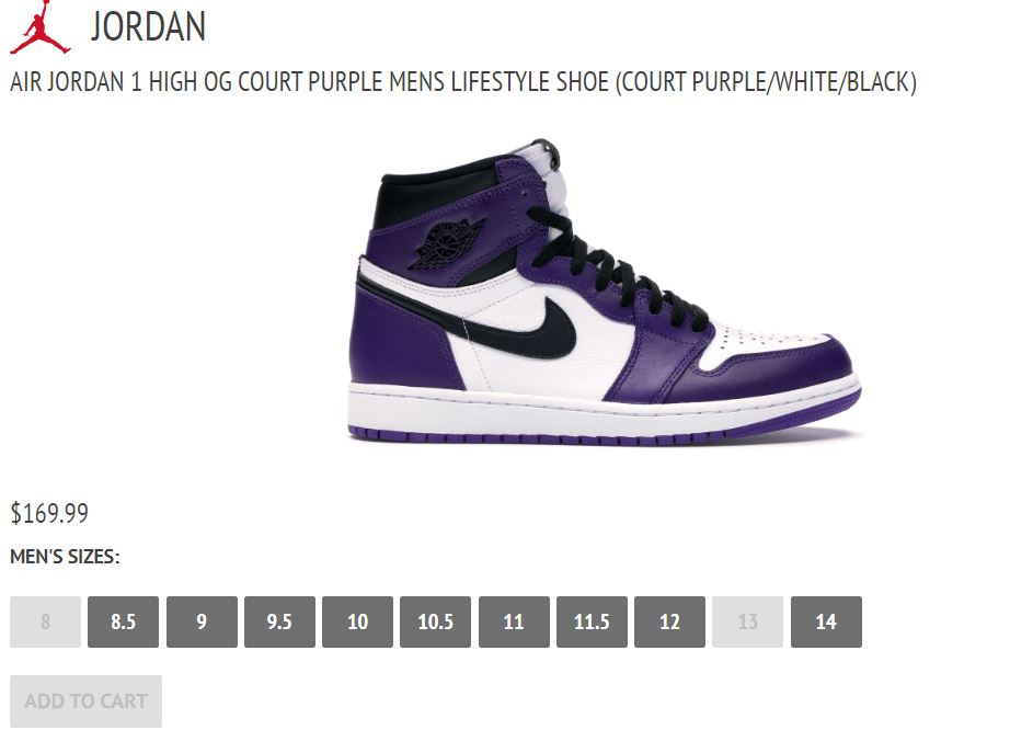 air jordan 1 court purple restock