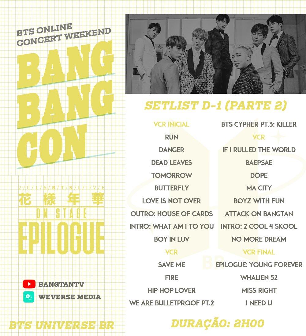 Bts Live Concert 2020 Online Setlist Transportkuu Com