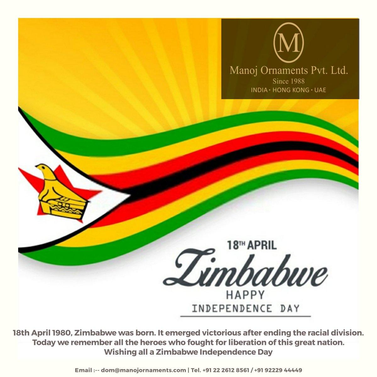 #ZimbabweIndependenceDay #ZimbabweAt40 #Zimbabwe #IndependenceDay #40years #ManojOrnamentsPvtLtd #indianjewellery #indianjewelleryusa #indianbridaljewellery #modernjewellerydesign #contemproryjewellery #handmadejewelrydesigner #indianfestival
