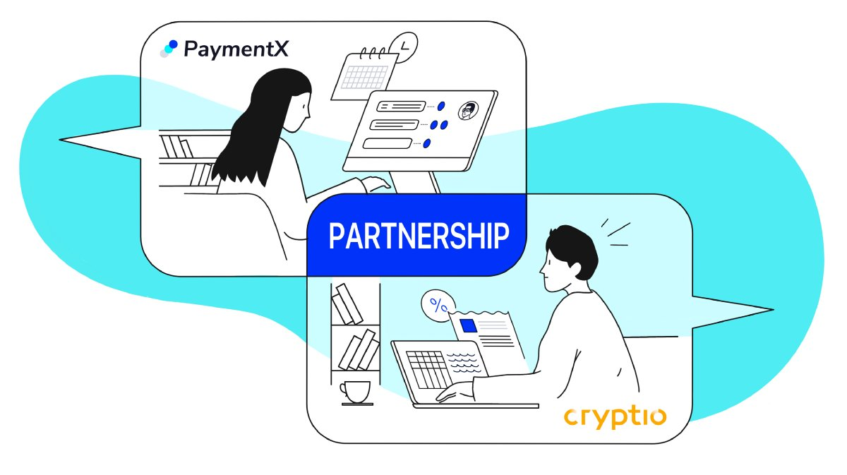 We're happy to announce our collaboration with @cryptio_co!