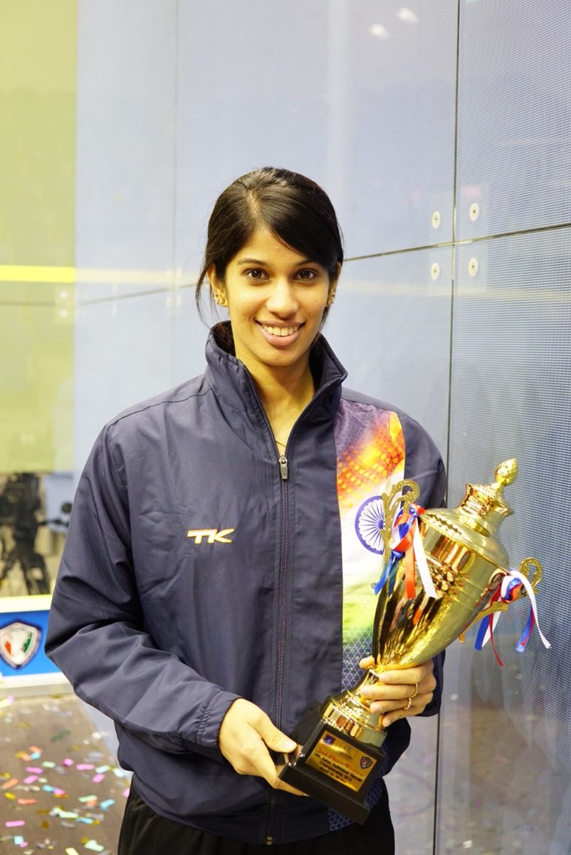 In 2015 Joshna Chinappa won a bronze medal at the 18th Asian Individual Championship held in Kuwait. #Throwback #goldenyears #squashlife #asiansquash #asian #indiasquash https://t.co/8HHTaWvhCp