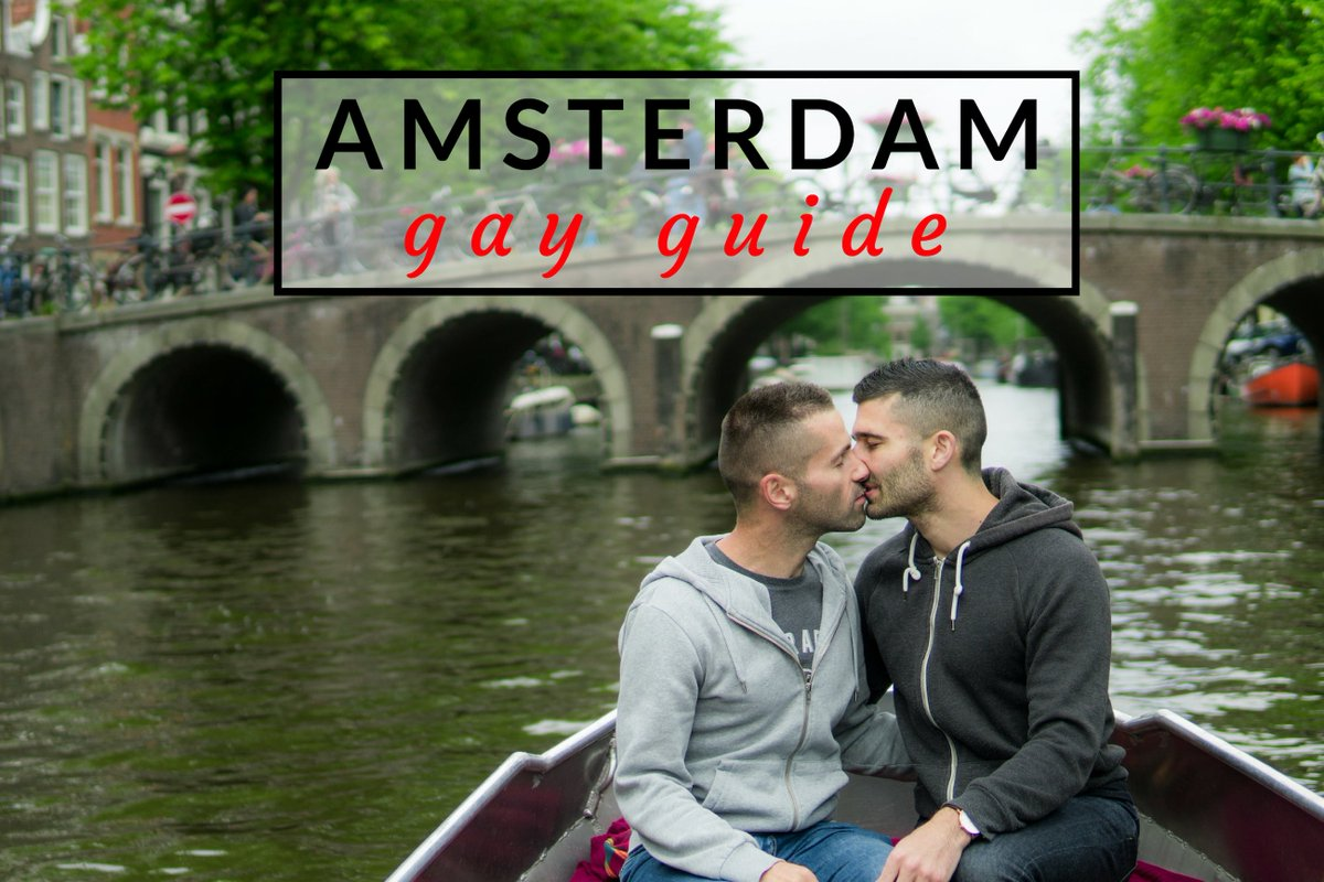 Route of amsterdam gay pride canal parade