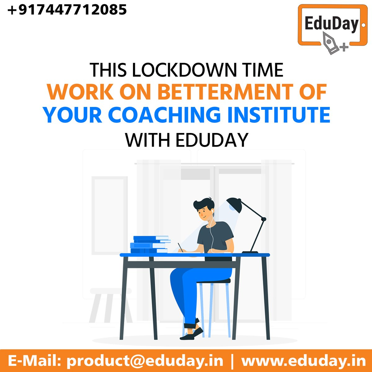Transform Teaching, Inspire Learning and Deliver a world-class Student Experience.  Get in touch to know more:- Phone : +91 7447712085 E-Mail: product@eduday.in visit:- http://www.eduday.in  #eduday #edudayindia #pune #india #tab #tablets #CoachingInstitute #Coachingclassesspic.twitter.com/0NgnWPFVTT