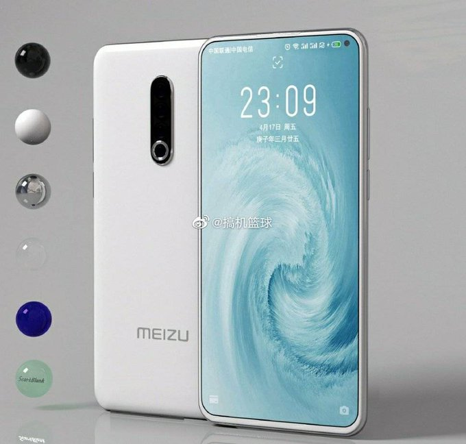 Meizu 17 White Colour Variant leaked on weibo : Daily Tech News