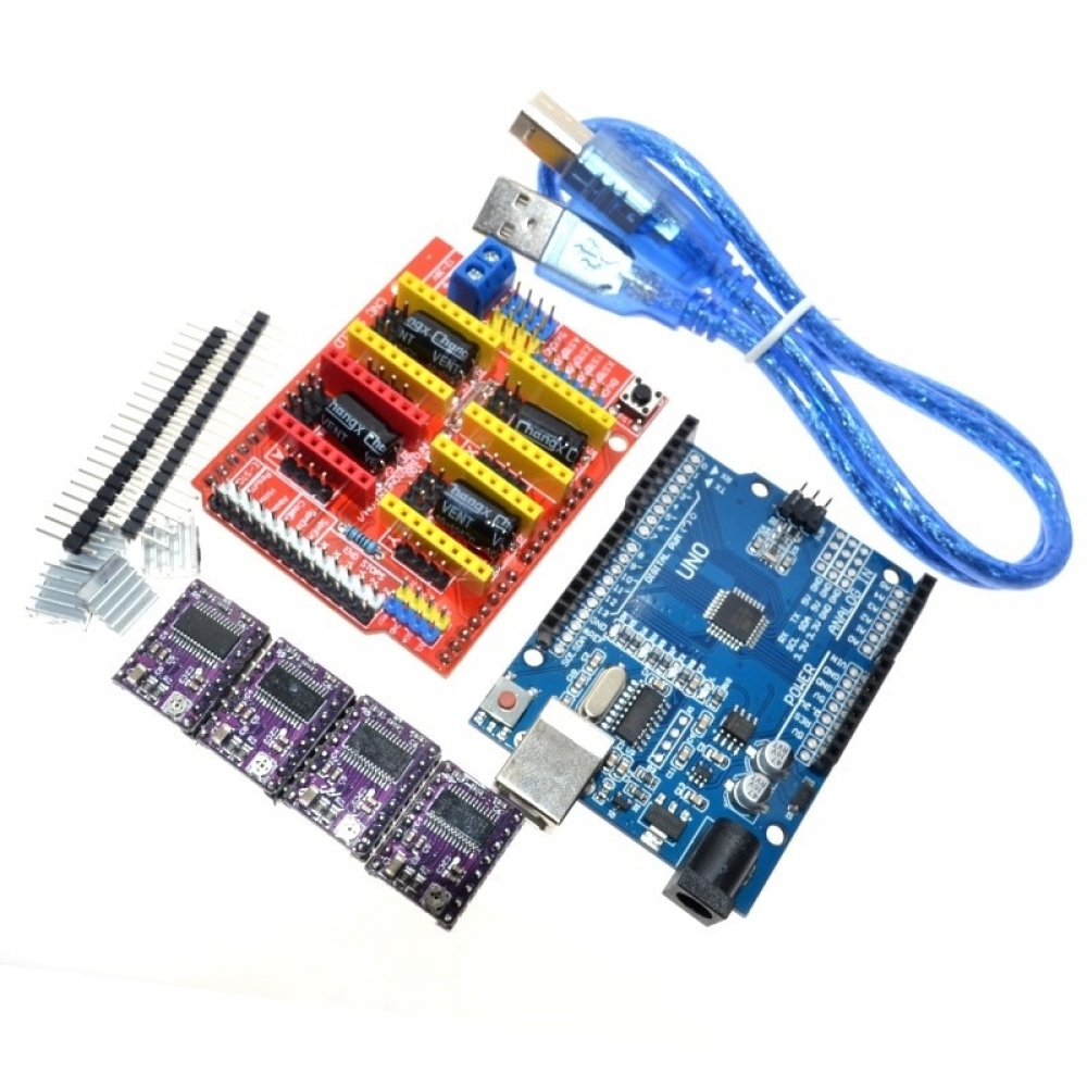 Driver Expansion Board Kit for Arduino UNO 15.60$ #3dprintingshop #3dprintingworld #3dprintingday Get it: