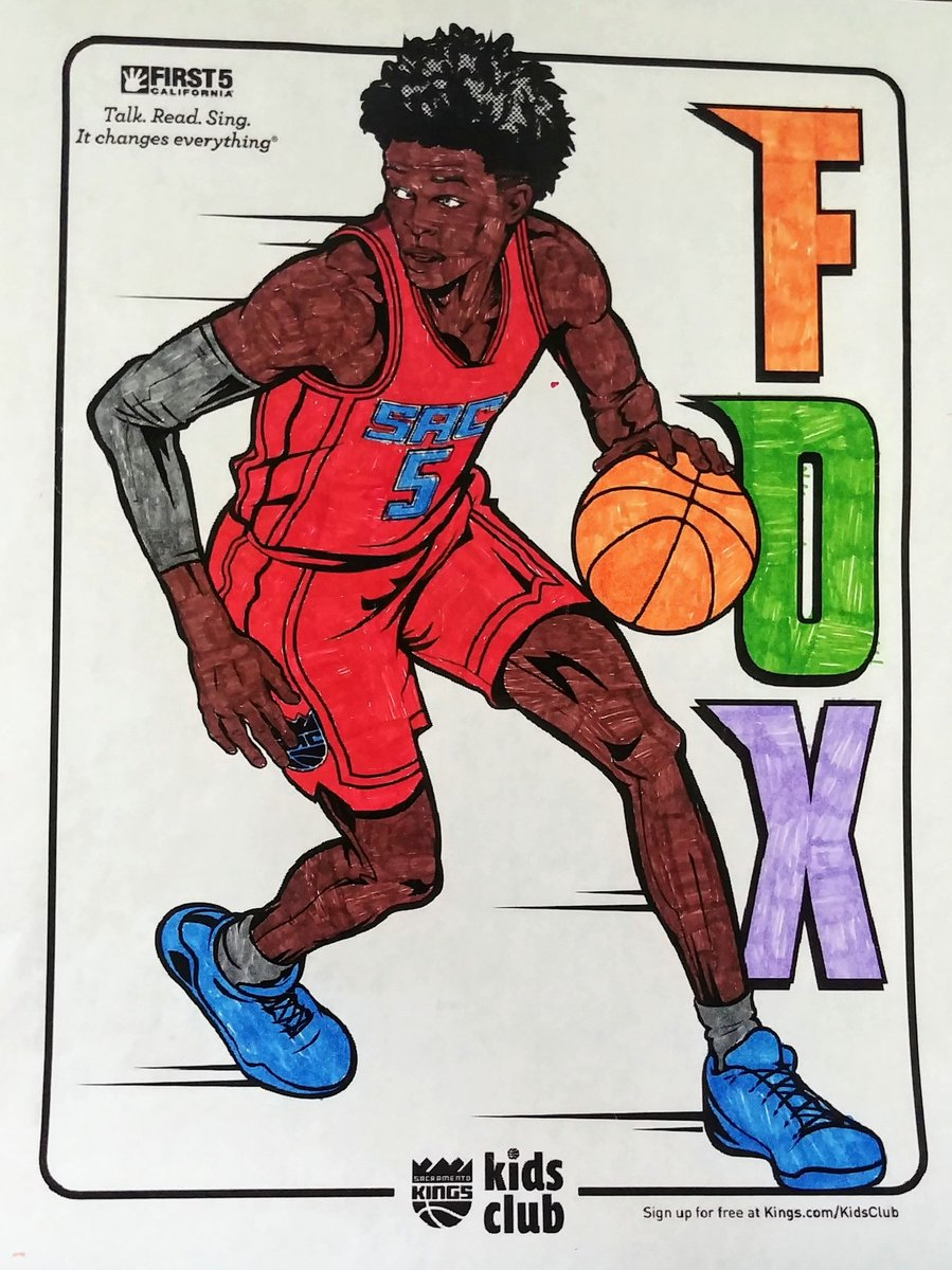 @SacramentoKings @swipathefox here is my 11 yr old son's submission.  #KingsColoringContest https://t.co/9tfdm2NQH1 https://t.co/ppbDWLmnKY