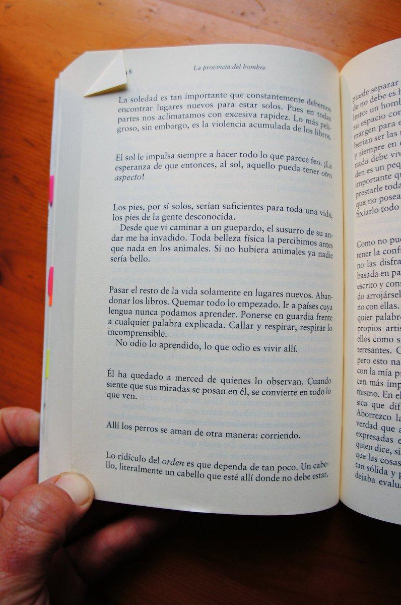 [Elias Canetti, La provincia del hombre : Carnet de notas 1942-1972]