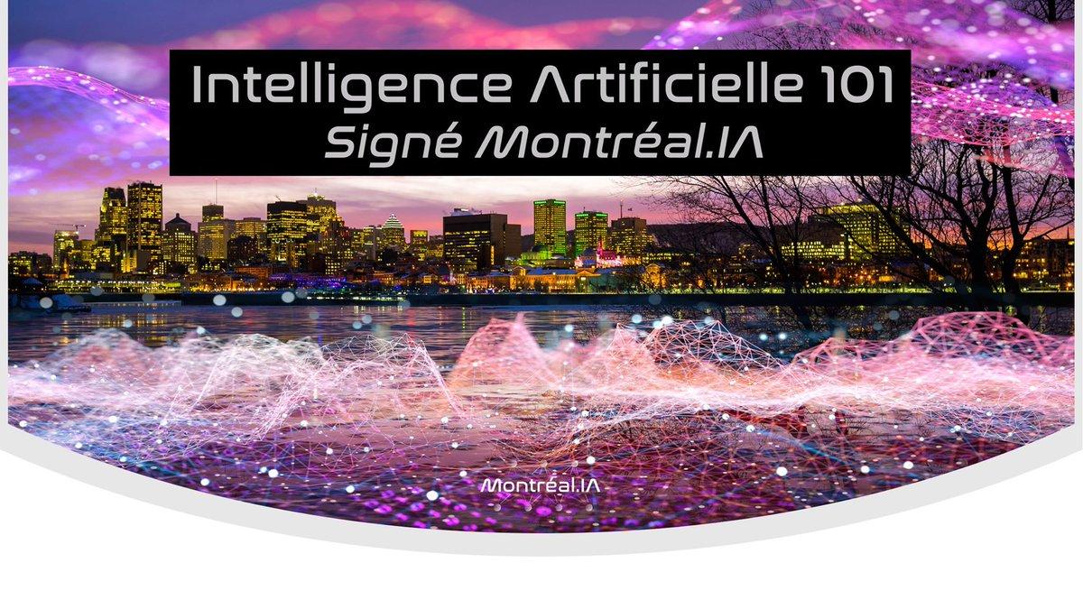 Intelligence artificielle 101 Plus de 1,600 personnes intéressées ou déjà inscrites 😊 Conférence en ligne: https://t.co/NkVyGioikR #IntelligenceArtificielle101 #IA101 https://t.co/GDGwr0akL8