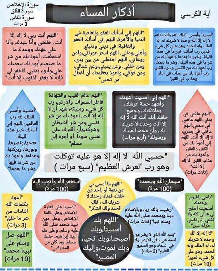 اذكار المساء والصباح Elathkaar Twitter 4