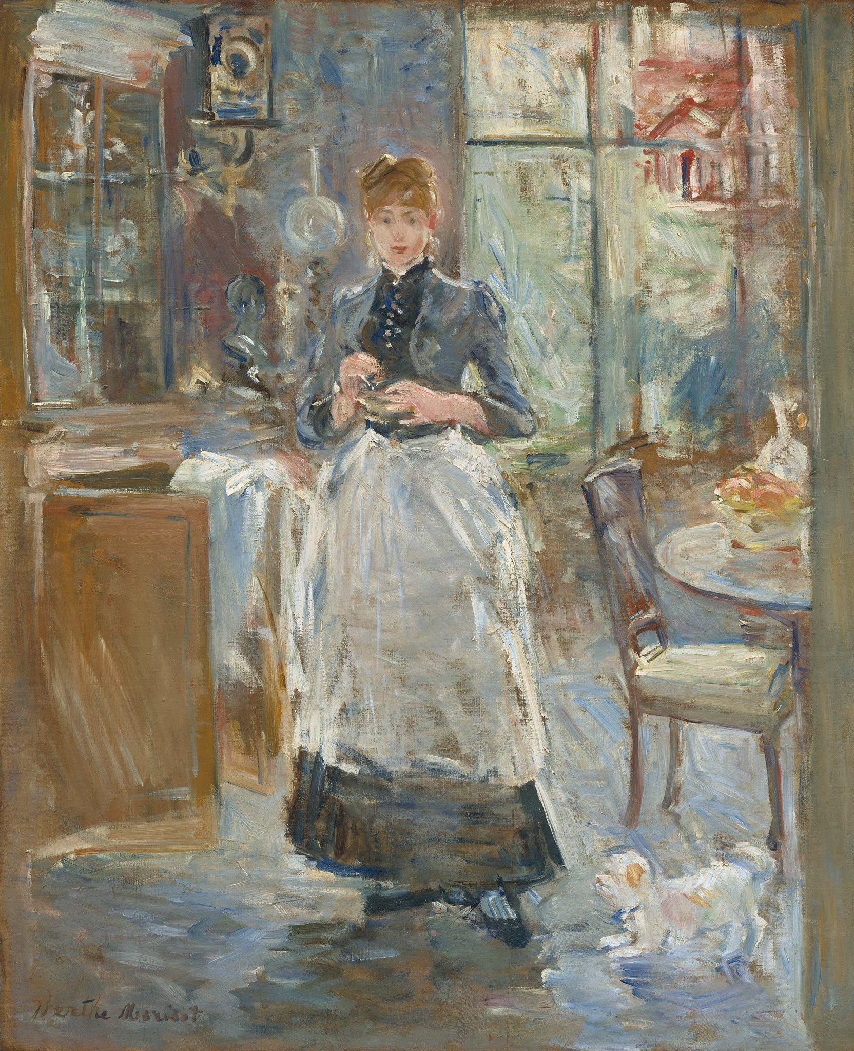 """GeekIndignado🎗️ on Twitter: """"Cuando pensamos en Impresionostas, pensamos  en Monet, Degas, Renoir... pero resulta que unos años antes Berthe Morisot  ya exponía en el salón de París con técnica que luego """"inspiró"""""""