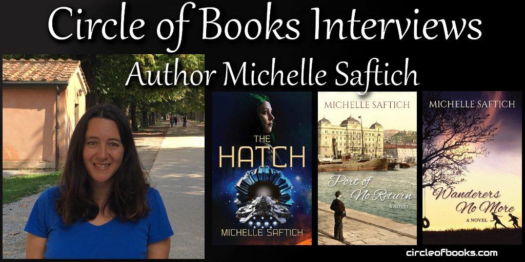 * #rt #interview #asmsg #iartg #author #books @MichelleSaftich https://t.co/Ge39xsDKCl #writersnetwork https://t.co/vpbi3foZT5