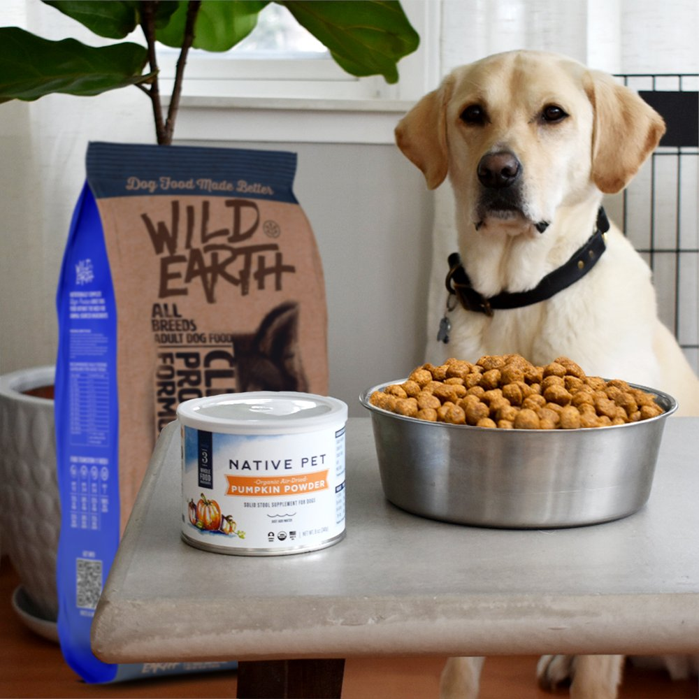 """Wild Earth on Twitter: """"Have you checked in on the newest item in the GetWild Reward program? It's Native Pet's air-dried pumpkin powder with apple and pumpkin seed. A yummy topper for"""