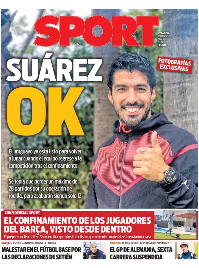 Sport - Suárez OK