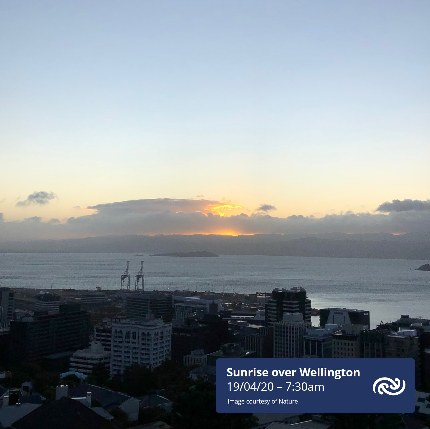 Morning Wellington  Clear skies over the city this morning are set to continue with a fine, albeit gusty day forecast. Christchurch & Auckland will also see plenty of sun though Auckland is expected to see one or two showers this afternoon or evening. More at metservice,com ^AC https://t.co/JmqAgukF3y