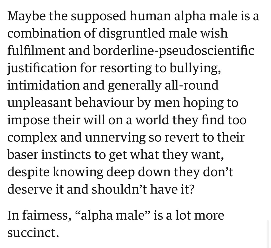 An in humans is what male alpha What Defines
