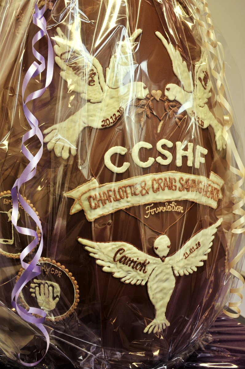Buy a raffle ticket to win this GIANT @CadburyWorld #EasterEgg and support Charlotte & Craig Saving Hearts Foundation @CCSHF15 Find out more via #BrumHour's website here: https://t.co/tLiMNajkP4 #Birmingham https://t.co/saNbP6iCS6
