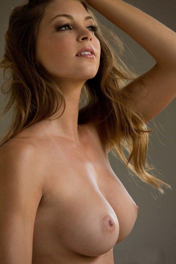 Breast topless woman