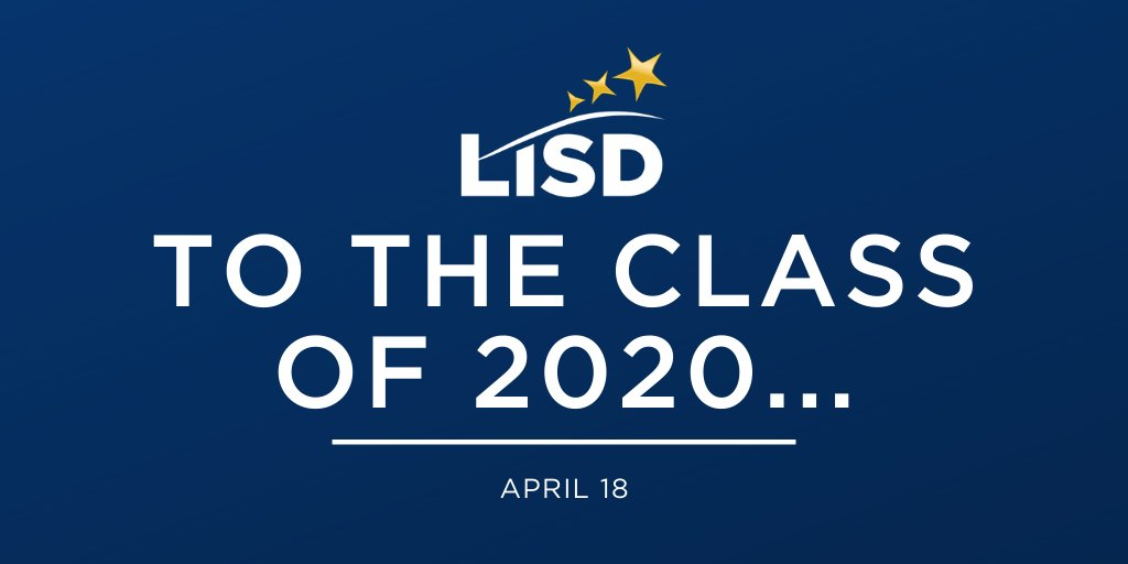 To the Class of 2020... bit.ly/2KsuwjX.