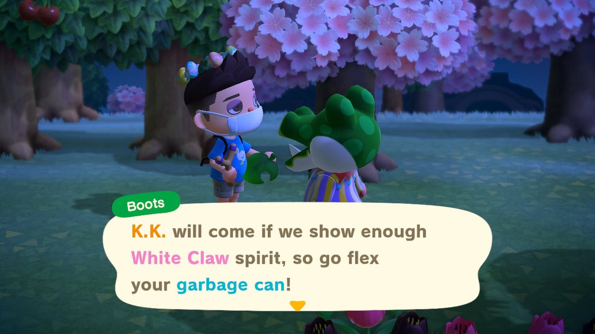 Excuse me #AnimalCrossing #ACNH #NintendoSwitch #Whiteclaw