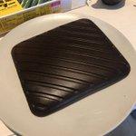 パンケーキを作ろうとしたのに!艶々な鉄板が出来上がった!