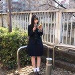 Image for the Tweet beginning: おはよう〜 👧🏻@CUCA_cheese0428 から #自撮りリレー が回ってきました〜! ありがとう!!!  お次は いつも番組でお世話になってる あっちゃん!キメてる自撮りよろしくお願いします〜 @atsushilonboo🤳#田村淳 さん   ホームステイ行ったときの写真! 2枚目は他撮りだけど。#即動力   #STU発東京