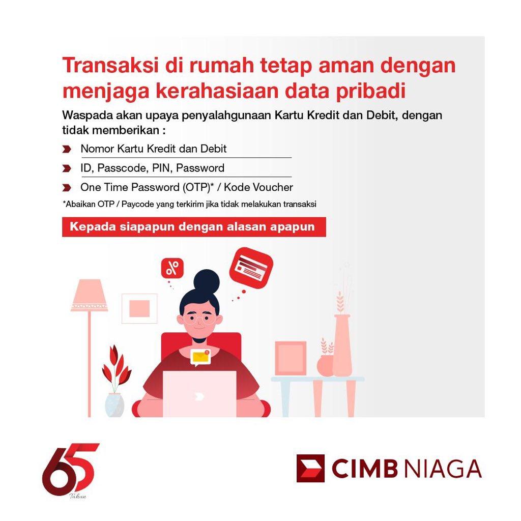 Cimb Niaga على تويتر Transaksi Perbankan Bersama Cimb Niaga Bisa