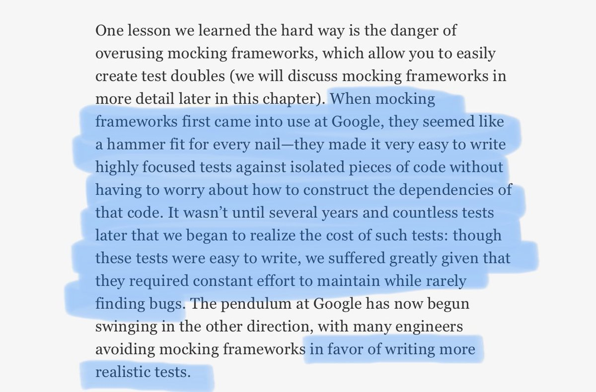 Excerpt from the Software Engineering at Google book