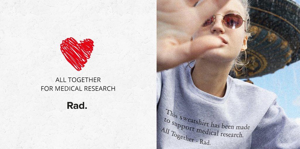All Together for Medical Research ❤ 100% des bénéfices reversés à la fondation pour la recherche médicale. All Together → https://t.co/u5klCMUOsO https://t.co/dB4Cj0yvdB