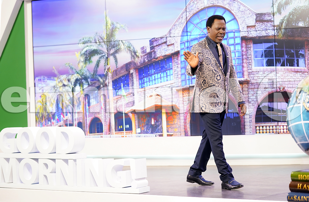 """I can see your business being restored, in the name of Jesus. I can see your finances, marriage, family, career being restored. Your career - get up, in the name of Jesus Christ! Everything that has to do with you - rise and walk, in the name of Jesus!"" - TB Joshua https://t.co/uQnEQPR7S8"