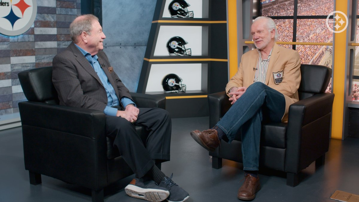 .@StanLoveTheShow interviewed #HallofHonor & @ProfootballHOF member Jack Ham to discuss being drafted to his hometown team, playing for Chuck Noll, his 12 year career & more. FULL 🎥: bit.ly/2Xgvt6h NOMINATE: bit.ly/3a5pMeO