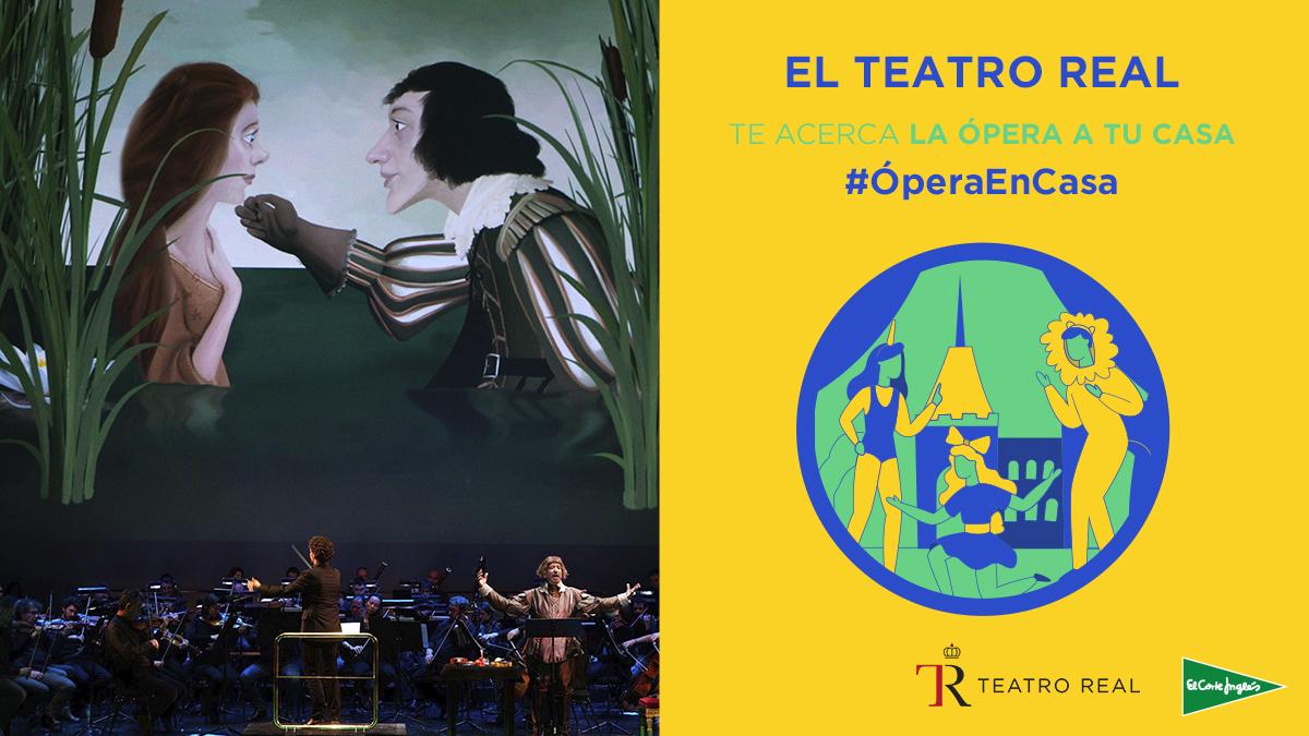 ¡El @Teatro_Real te acerca la ópera a tu casa! Accede gratuitamente a sus espectáculos infantiles y juveniles, como 'El Gato con botas' o 'Mi madre la oca', y diviértete en familia. 😍 Consulta la programación completa aquí 👉🏼 http://bit.ly/2VaarUo #EstamosATuLado #ÓperaEnCasa