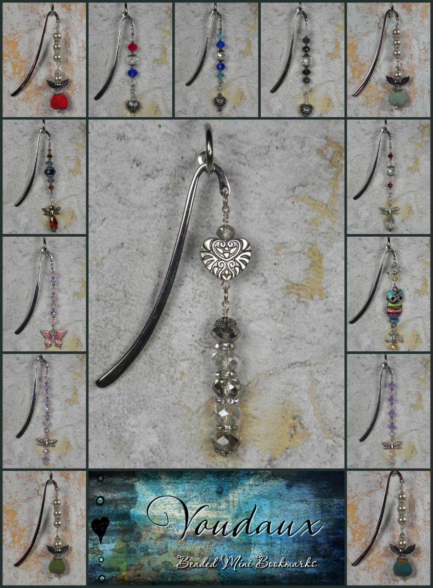 Beaded Mini Bookmarks  @eBay #shopsmall #accessories #gifts #giftsforher #giftidea #handmade #buyhandmade #handmadewithlove #supportthemakers #handmadebyme