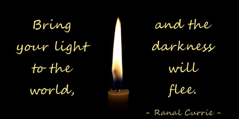 Bring your light to the world and the darkness will flee.  #quote #light #darkness #TuesdayMotivationpic.twitter.com/TqD2kqs7K8