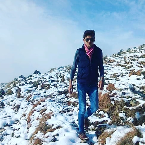 #one of the #greatest #movement on #the  #top of #hill at #snow #fall   #winter #pic #therealmuhammadabbas #sahib_zada #snowfall #bluesky #mountains #instagram #twitter #facebook #beauty #followforfollowback @…