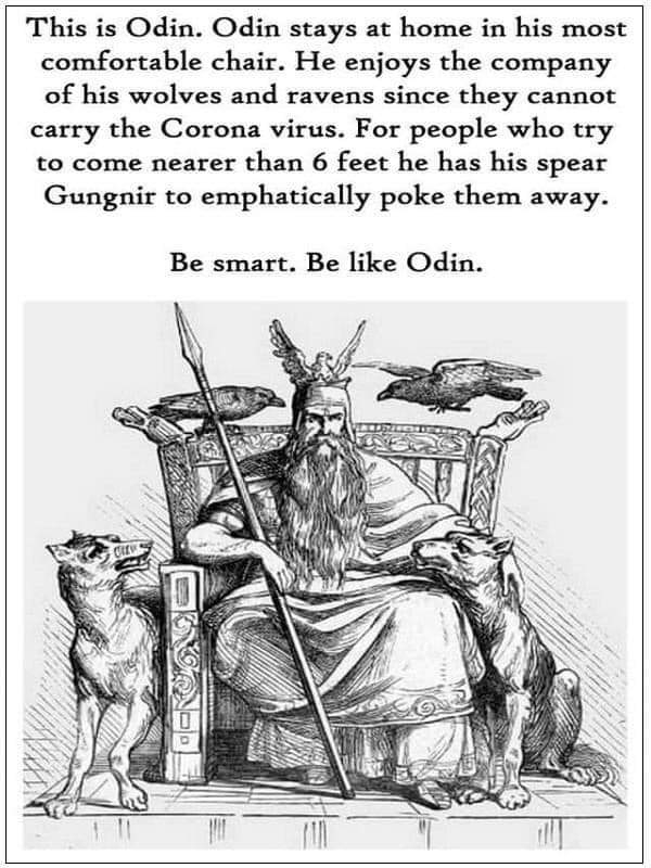 Be like Odin!  http://www.SPELLMAKER.com  #mambosam #spellmaker #voodoo #hoodoo #voodooqueen #voodooritual  #thevoodooboutique  #witch #witchcraft #witchesofinstagram #instawitch #witchlife #magick #freespellspic.twitter.com/WqylxlQmNd
