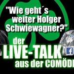 Image for the Tweet beginning: Holger #Schwiewagner ist heute im