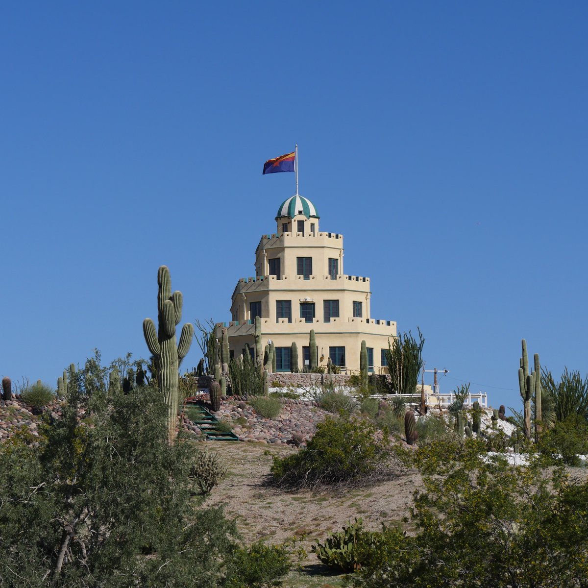 City Of Phoenix Az On Twitter Completed In 1931 The Tovrea Castle At Carraro Heights Is Named In Honor Of The Original Builder Alessio Carraro And Its Second Owners E A And