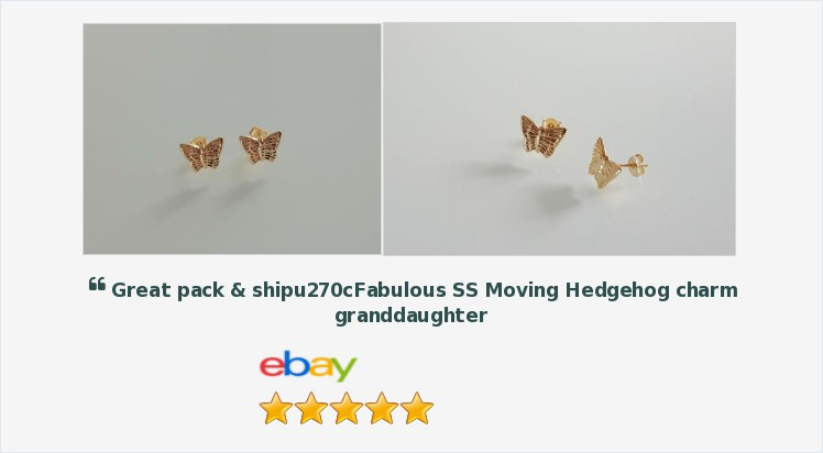 Brand New 9ct Gold Small Butterfly Stud Earrings - boxed | eBay #9ct #gold #butterfly #stud #earrings #jewellery #finejewelry #gifts #giftideas #giftsforher #cute #pretty #jewerly #accessories #onlineshopping #uksmallbiz #jewelrylover #jewelryaddict