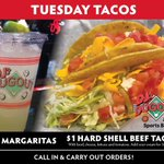 Let's Taco bout our Tuesday Specials! $1 Hard Shell Beef Tacos and $7 Margaritas on the rocks To-Go! See our other great menu items at https://t.co/GJu1otyN9Y. Call In & Carry Out from our Bellevue, Elkhorn, Millard, & Plattsmouth locations: https://t.co/duqkoKfqbC