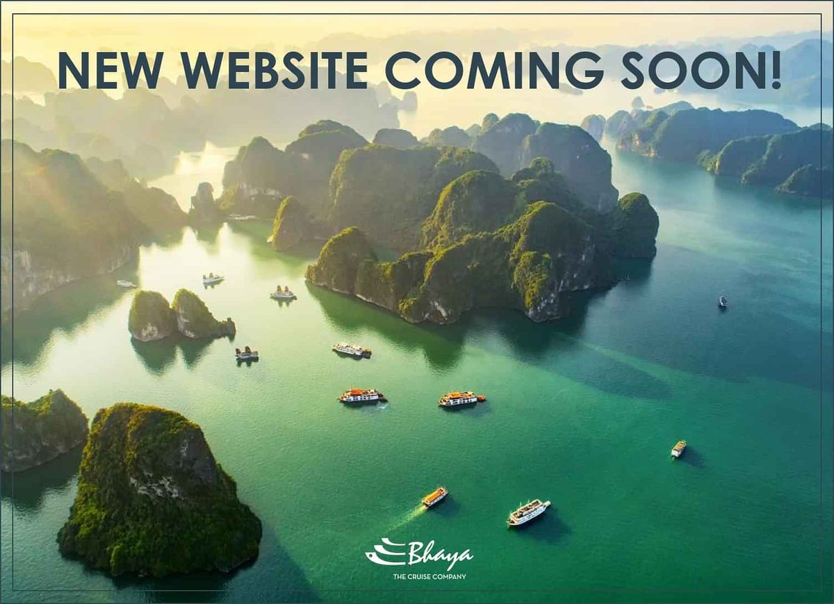 New Website Is Coming Soon! After months of hard work and dedication of our team, the new Bhaya Cruises' website is finally ready to be launched on April 9th. Stay tuned and get ready to explore the best cruise options in the world renowed Halong Bay. #bhayacruise #vietnamtravel pic.twitter.com/5HUxgE6hPM
