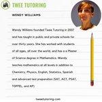 Image for the Tweet beginning: Meet our tutors! Here is